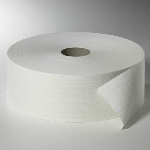 """6 Rollen Toilettenpapier, 2-lagiges Tissue Ø 26,5 cm · 420 m x 10 cm weiss """"Maxi Rollen"""" Großrolle"""